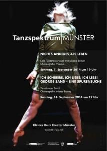 Dance theatre piece: Nichts Anderes als Leben, 2013