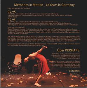 Perhaps - a dance theatre piece, 2009