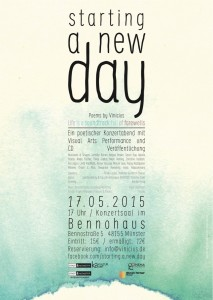 Starting a new day - Poster, 2015